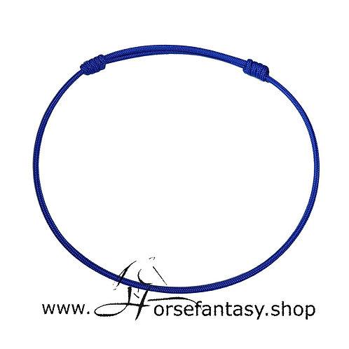 Halsring Electrik Blau