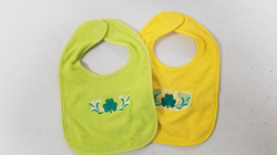 Deb's embroidered bibs