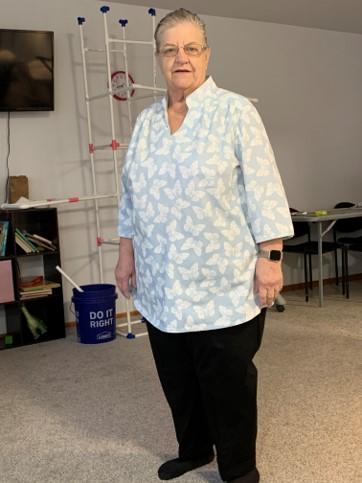 Ann's blouse