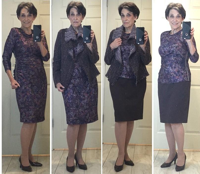 Nancy's wardrobe combo
