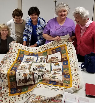 2019-05 Deb Kaiser Quilt Peggy Hunt, Ivy