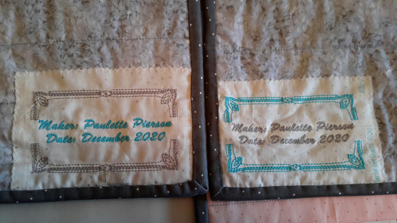 Paulette's custom tags