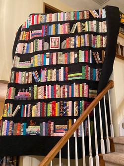 Debbie's Bookshelf Quilt