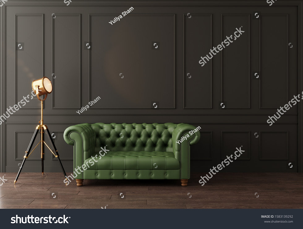 stock-photo-black-wall-with-moldings-gre