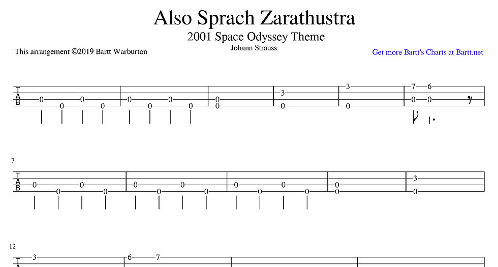 Also Sprach Zarathustra - 2001 Space Odyssey Theme