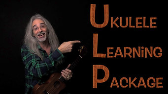 Blues in A - Ukulele Learning Package