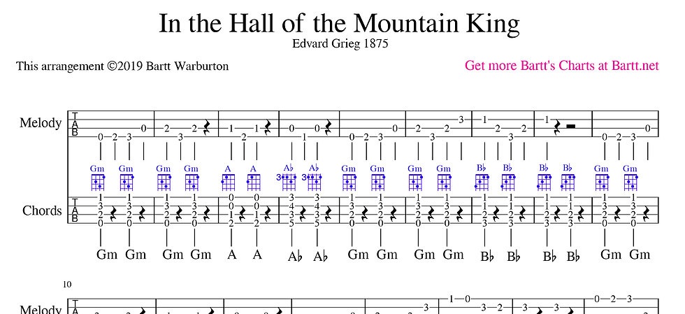 """In the Hall of the Mountain King"""