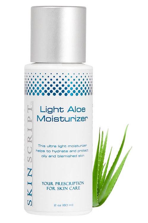 Skin Script Light Aloe Moisturizer (2oz)