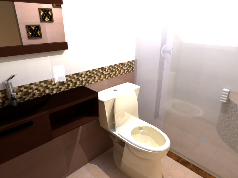 Baño Render 1