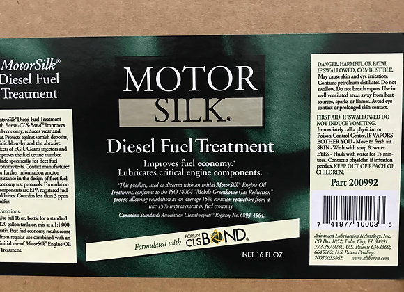 Motorsilk Diesel Fuel Treatment 16fl.oz