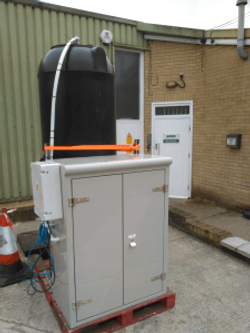 A test unit we rent out for trials.