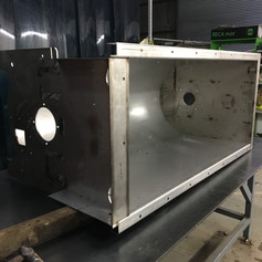 Stainless steel fabricaton of one of our own machines by sister company Dartmoor Engineering.