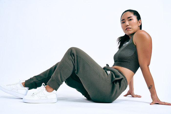 JAMIE SONG with Nike Woman