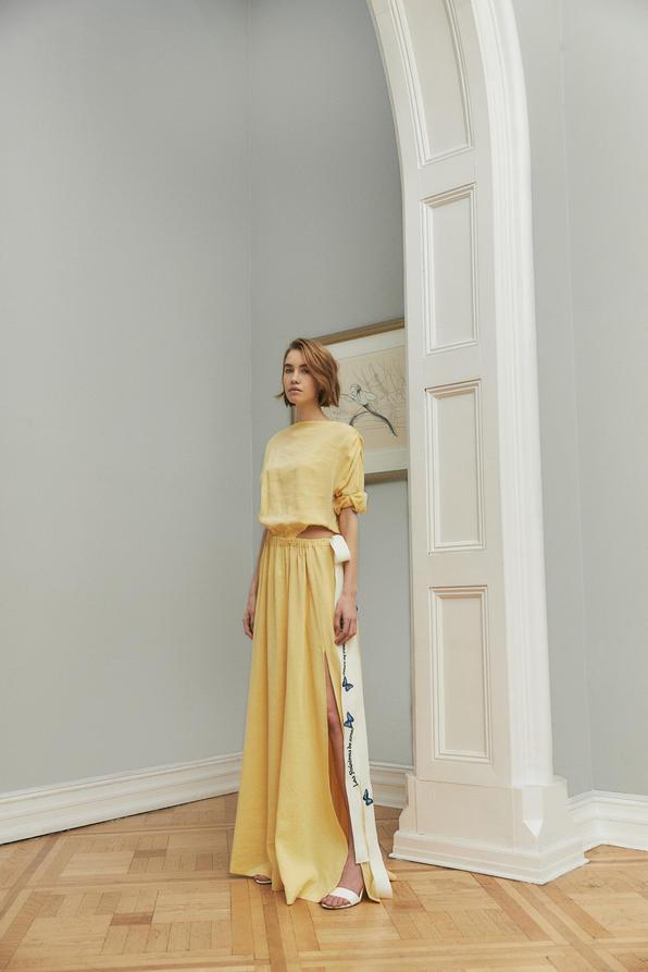 Simple Yellow Dress