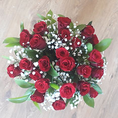 Melolivia Flowers - Red roses bouquet - fresh flowers