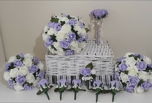 Artificial Flowers Wedding Package