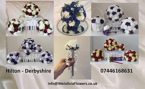 Melolivia Flowers - foam flowers