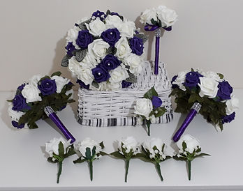 Melolivia Flowers - package deal £99 - foam flowers