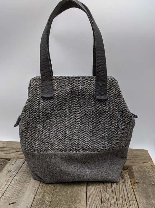 Large Frame-Top Tote
