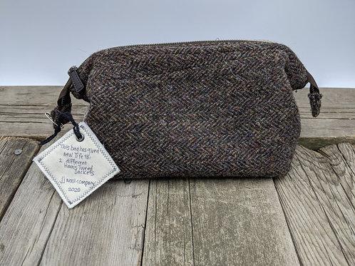 Frame-top Zip Bag