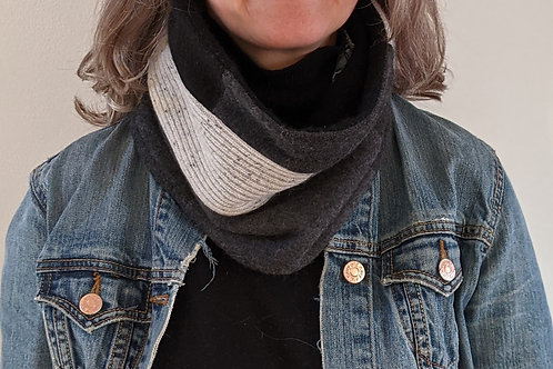 Cashmere neck warmer - Rocky Mountains #1