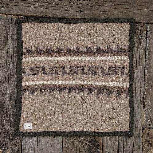 Sitteunderlag -brown pattern