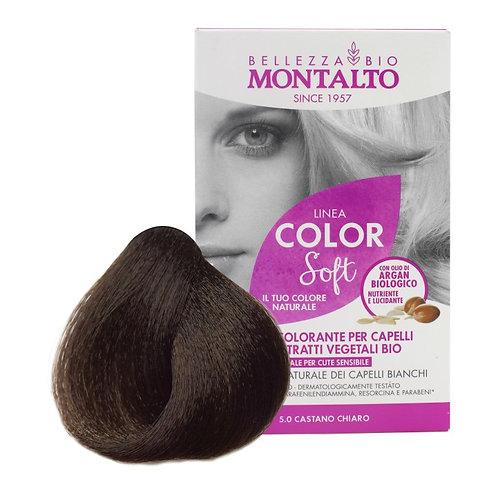 Montalto   Linea Color Soft Natural Hair Color   5.0 Castano Chiaro