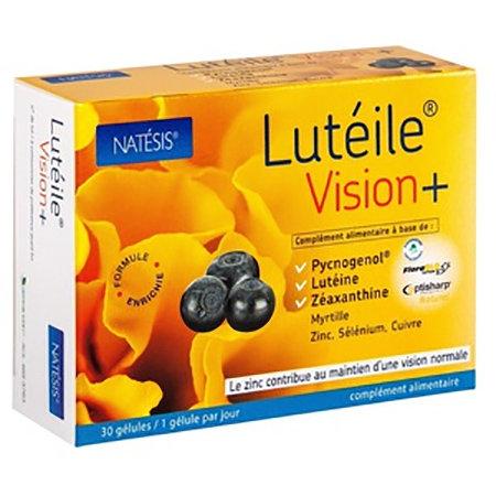 Natésis | Lutéile® 視覺+ | 30粒/盒凝膠