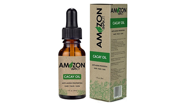 AMAZON IN OUT | CACAY OIL, ANTI-AGING PROPERTIES (Hair/Face/Skin) | 30m