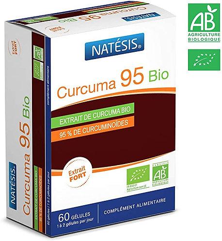 Natésis | (Turmeric) Curcuma 95 Bio | 300mg per capsule, 60 Caps/Box