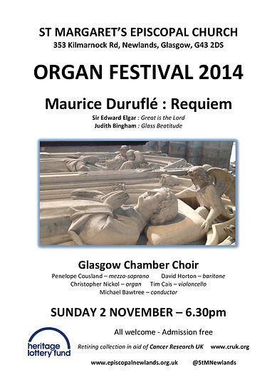 Tim Cais cello organ festival at St. Margaret' Episcopal Church, Newlands, Glasgow Durufle Requiem cello solo