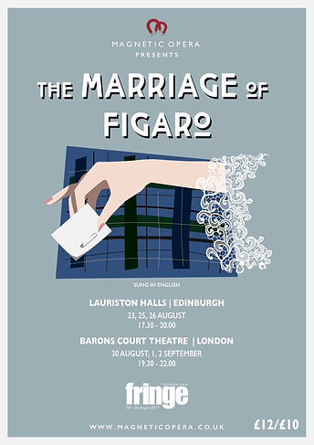 Magnetic Opera, Tim Cais, Marriage of Figaro 2017