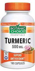 Turmeric 500 mg. 180 capsules