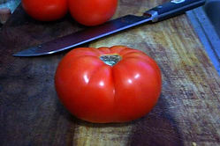 The Brandywine Tomato is a heirloom variety and you should grow some in your garden this year.