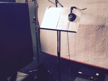 Recording at Schwab Studios