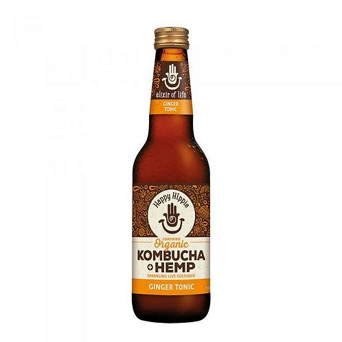 Ginger Tonic Hemp + Kombucha - 12 x 330ml bottles