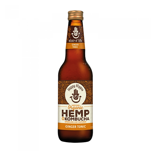 Ginger Tonic Hemp + Kombucha - 12 x 330ml bottles