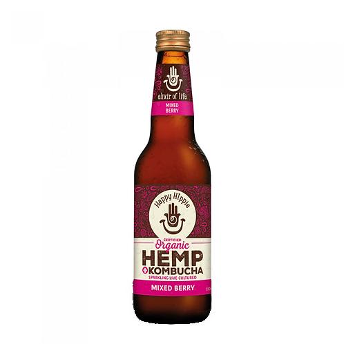 Mixed Berry Hemp + Kombucha - 12 x 330ml bottles