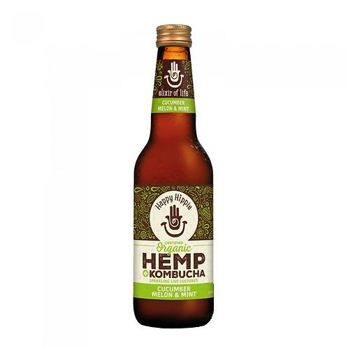 Cucumber, Melon, Mint Hemp + Kombucha - 12 x 330ml bottles