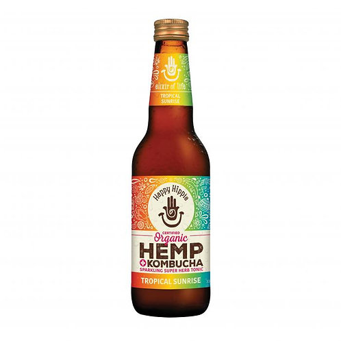 Tropical Sunrise Hemp + Kombucha - 12 x 330ml bottles