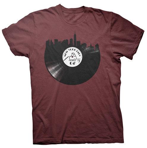 "Digmi ""Vinyl Skyline"" Maroon"