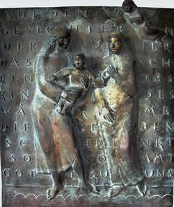 Anna Selbdritt, Bronze, 58 cm