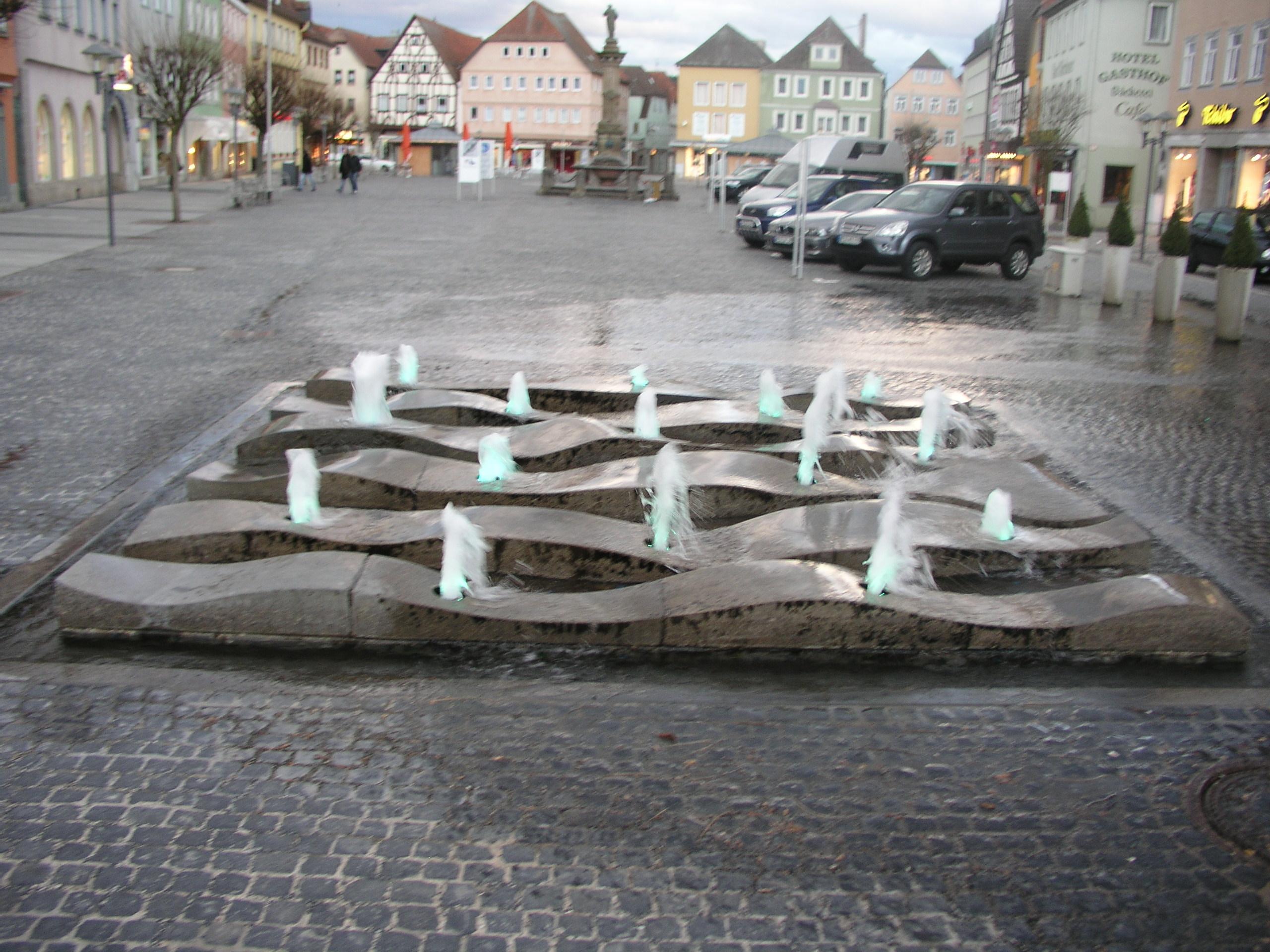 Marktplatzbrunnen 2010