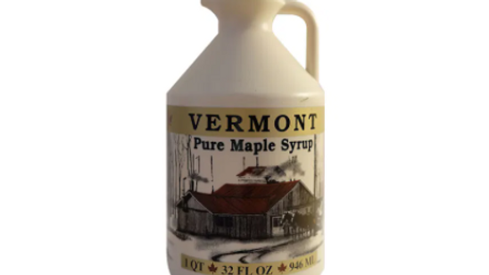 Leaf Pure Vermont Maple Syrup (Glass)