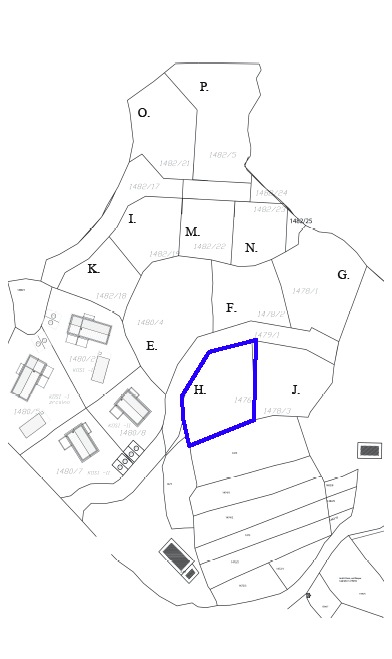 Cadaster land plot H