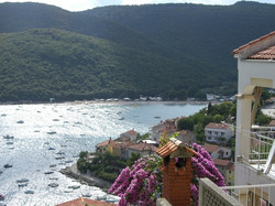 The bay of Rabac