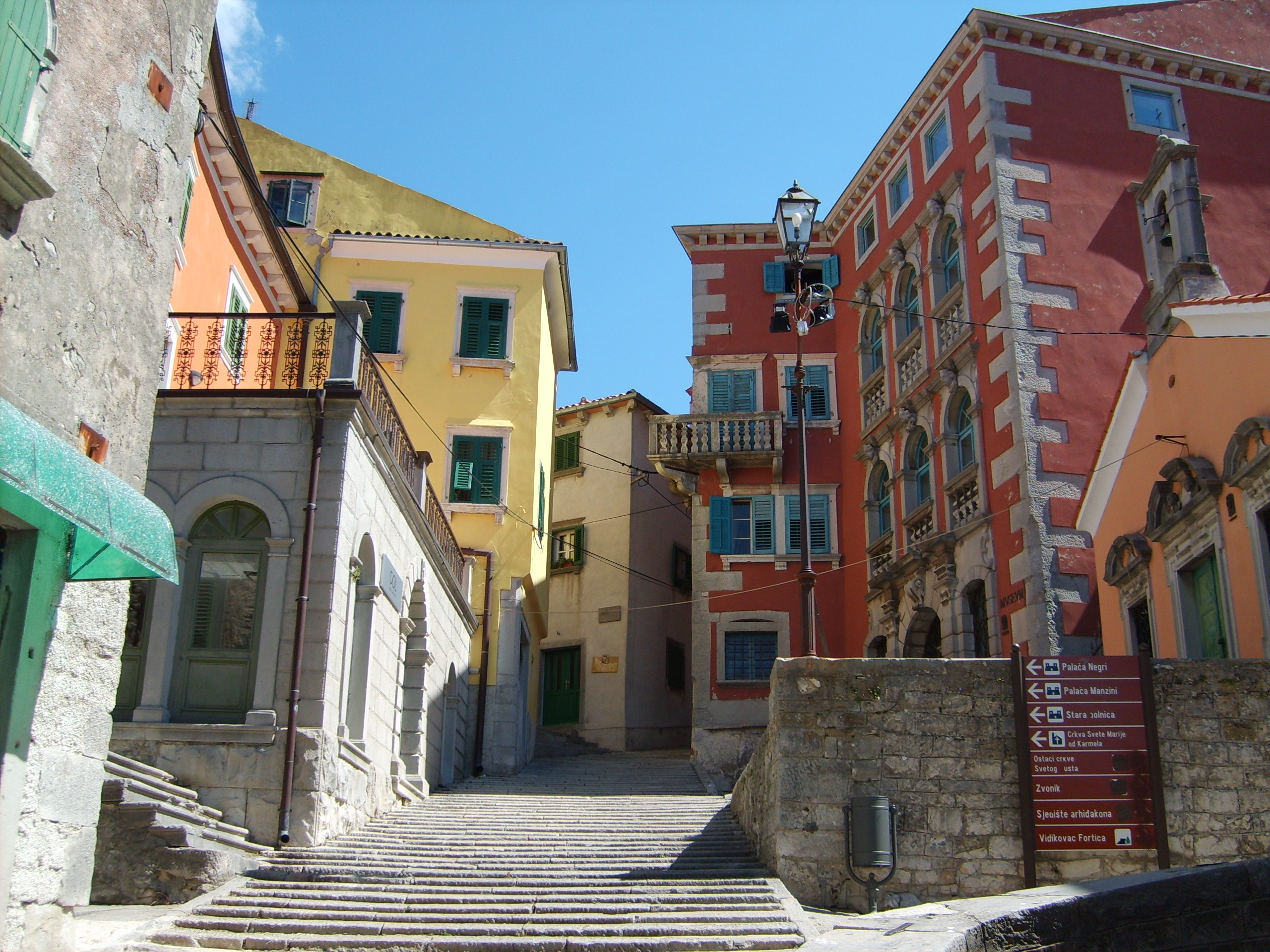 Center of Labin