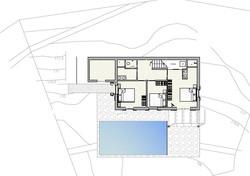 lower floor Villa J