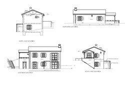 Facades and sections