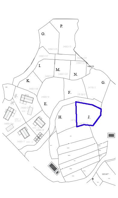 Cadaster land plot J